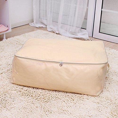Zehui Home Decor Storage Bag Household Storage Box White XL