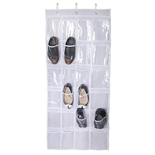 WINK KANGAROO 24 Pockets Door Hanging Holder Tidy Shoe Organiser Closet Storage Shoe Rack