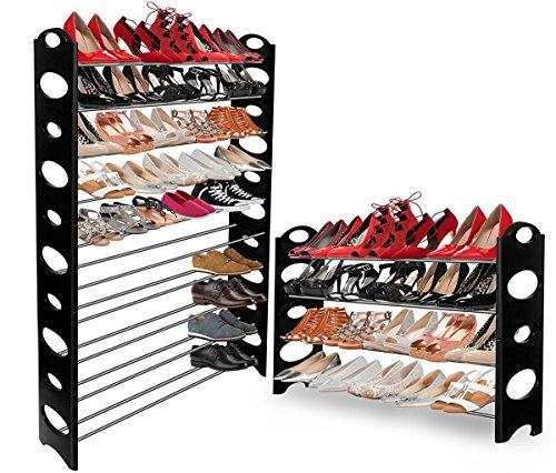 Portable Shoes Rack Storage Organizer Closet Up To 50 Pair Shoe Shelf Storage