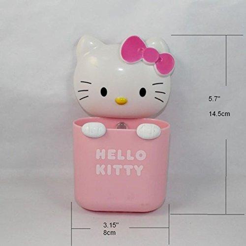 Hello Kitty Sucker Office Kitchen Bathroom Multipurpose Storage Bucket