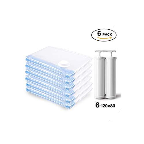 Transparent Vacuum Bags for Clothes Organizer See Through Space Saver Vacuum Bags Pump Sac Rangement VetementAs Show2Pack 1