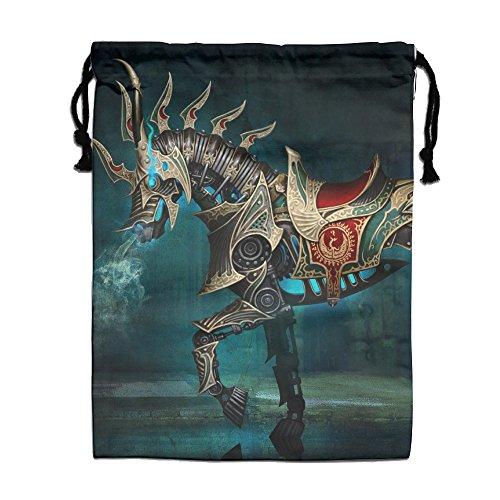 Drawstring Bag - Unicorn Horse Soft Shopping Bag Gift Bag For Travelcarrying Space Saving Storage Bags
