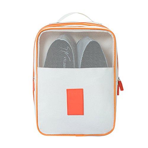 Shoes Storage HuaForCity Space Saving Dust-proof Shoe Organizer Bag 29x215x13cm White
