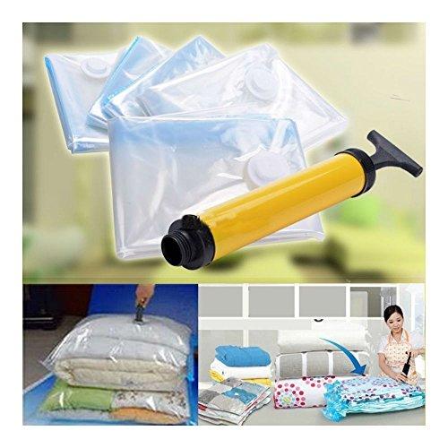 5 PACK JUMBO Space Saver Bags Storage Bag Vacuum Seal Organizer