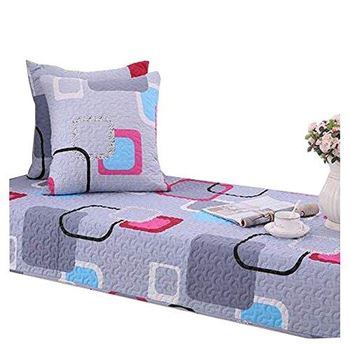 Modern Window Bench Mat Window Seat Pads Cushion Covers Tatami Box Pattern