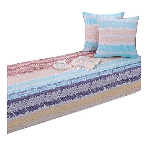 Modern Window Bench Mat Window Seat Pads Cushion Covers Tatami Stripe