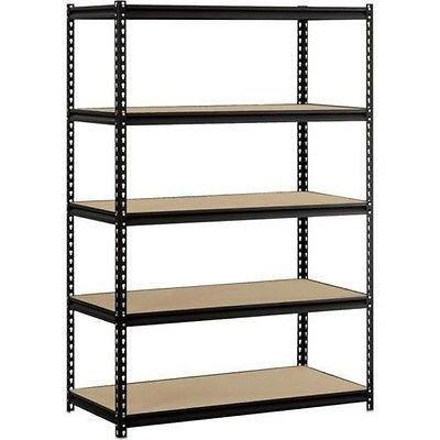 Heavy Duty Shelf Garage Steel Metal Storage 5 Level Adjustable Shelves Unit