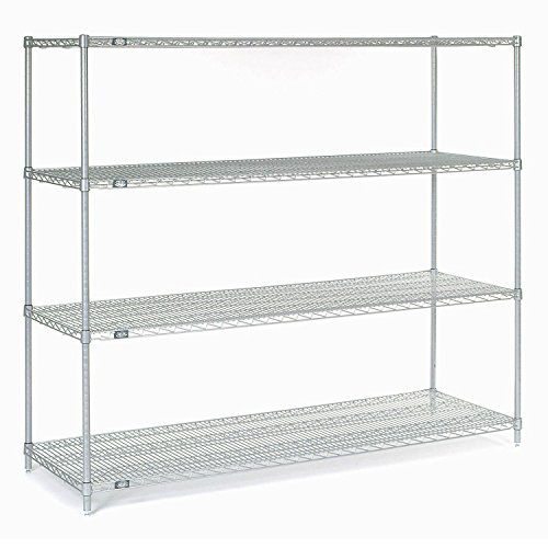 Stainless Steel Wire Shelving 72W x 24D x 86H