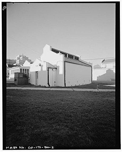 Photo Fitzsimons General HospitalX-ray Film Storage BuildingAuroraAdams CountyCO1