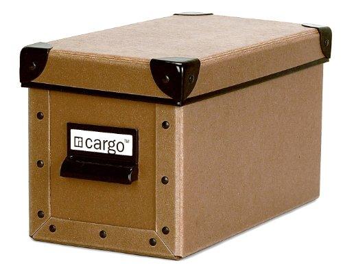 Cargo Naturals CD Storage Box Nutmeg 6 by 10-34 by 5-34-Inch