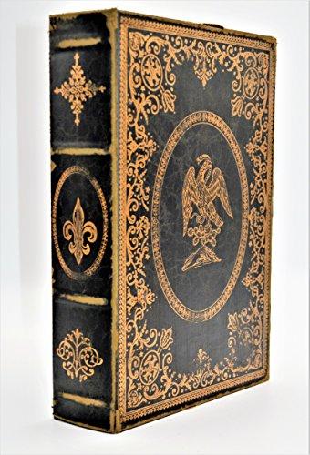 Faux Leather Decorative Storage Book Box