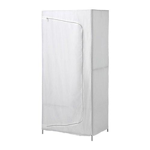 Ikea Clothes Closet  Wardrobe Armoire White