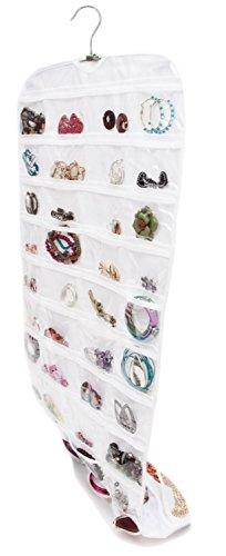 Sunny Rain Closet Ultra 80 Pocket Hanging Jewelry Organizer