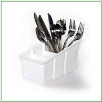Delfinware Spare Plastic Cutlery Tray in White 2500