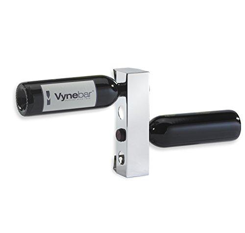 Vynebar  4 Polished Mirror Vertical Wine Rack