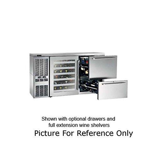 Perlick DZS60 60W Dual Zone Refrigerated Back Bar Storage Cabinet