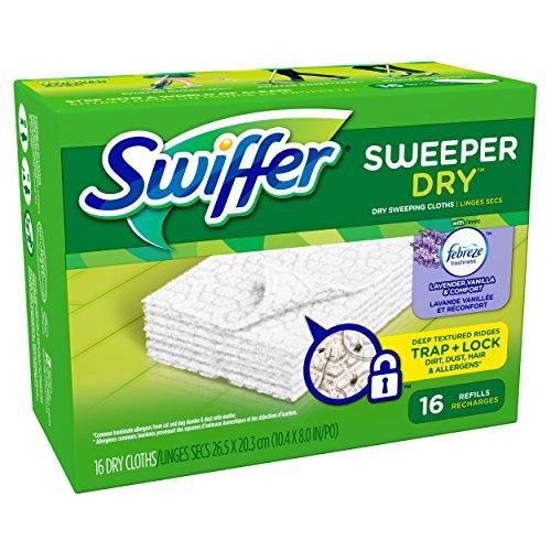 Swiffer Sweeper Dry Cloth Refill - Lavender Vanilla Comfort - 16 ct