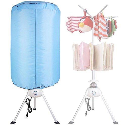 Yescom Portable Electric Clothing Dryer 1000W Heater Folding Drying Machine Lightweight