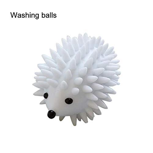 Whewer Hedgehog Drying Ball Reusable Hedgehog Skirt Sweater Washing Ball Anti-Winding Natural Alternative Soft Laundry Dryer Balls