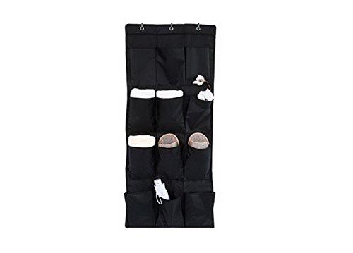 12 Pockets Door Hanging Wardrobe Storage Bag for Socks Shoes Toys Jewelry Bra Underwear Pocket Bag Rack Hanger Closet Tidy Organiser