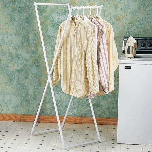 Generic QY-US4-16Apr11-3783276 Shirt Hanging air le ligh Laundry Clothes Portabl Portable lightweight Laundr Folds Flat ds Flat drying Rack g Rack Folds Flat
