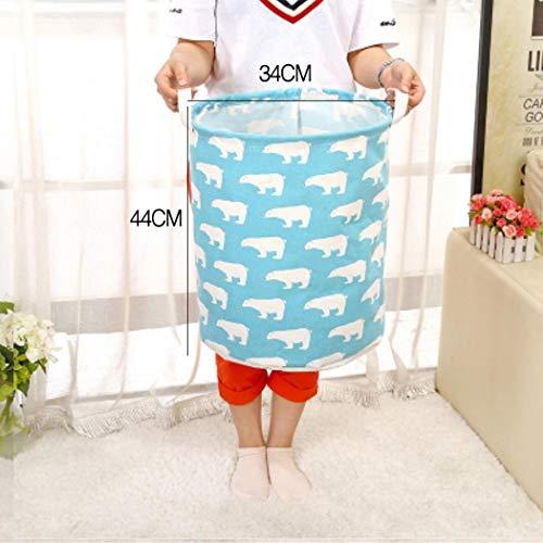 Almost Clothes Laundry12inch Cotton Linen Storage Bin Folding Laundry Hamper Storage Organizer for Bedroom Nursery Room22 Type Shelf Baskets