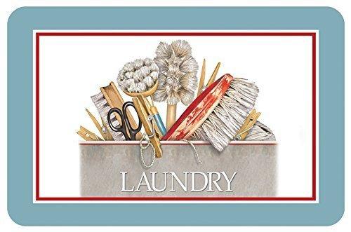 Bungalow Flooring 20322531827 Laundry Bucket Accent Mat