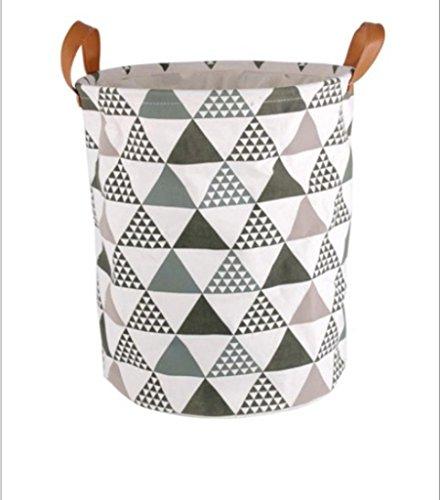 GYMNLJY Fluid Systems Grocery Laundry Bucket Storage Basket Circular Storage Barrels Multi-Purpose Foldable Storage Bags Accommodating Bag
