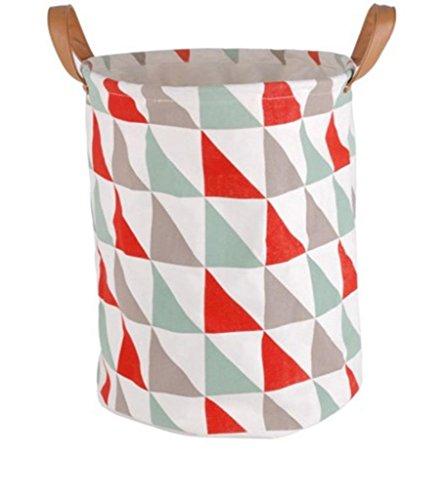 GYMNLJY Large Dirty Clothes Storage Basket Laundry Basket Bucket Laundry Bucket Multi-Purpose Foldable Storage Box
