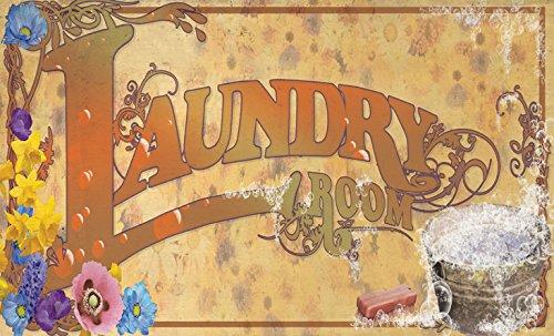 Laundry Bucket Doormat 18 X 30