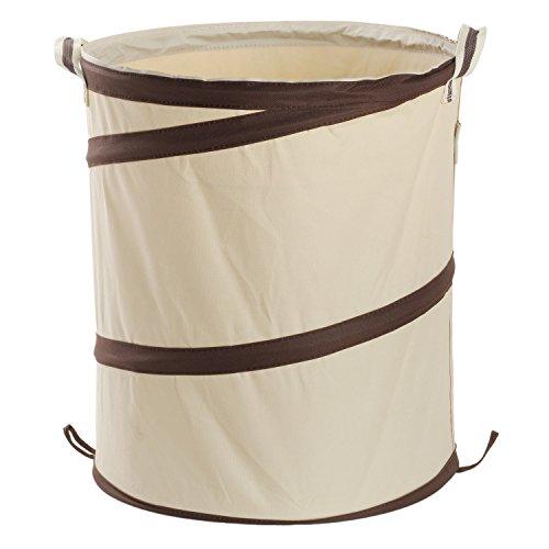 Merssavo Multifunction Waterproof Clothing Laundry Bucket Bin Clothes Toy Storage Barrel Organiser Foldable Hamper