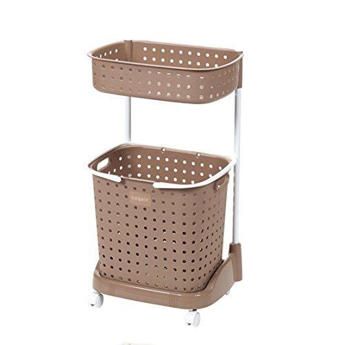 housancun Double laundry basket laundry basket car wash basket dirty clothes storage baskets Laundry baskets Laundry bucket