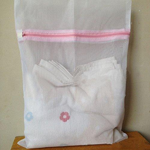 AOJIAN 2 Sizes Underwear Aid Bra Socks Lingerie Laundry Washing Machine Mesh Bag M