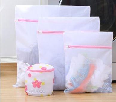 Clothes Washing Machine Laundry Bag Nylon Mesh Net Washing BagSet of 4