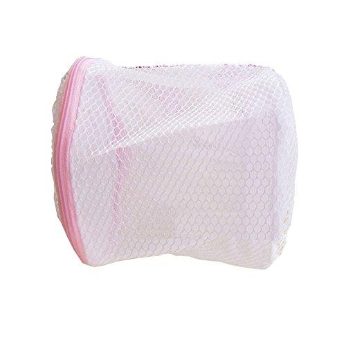 Hunulu Zipped Wash Bag Washing Machine Laundry Net Lingerie Mesh Underwear Bra Clothes Socks