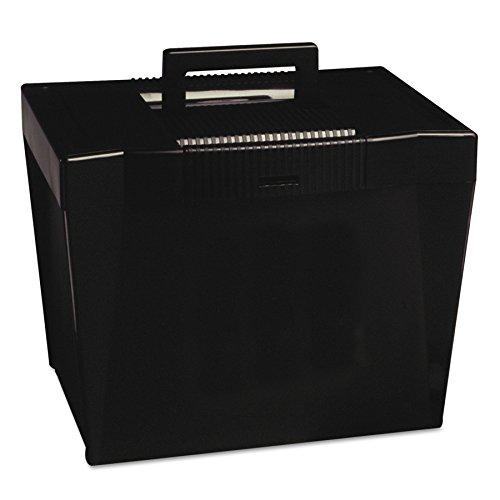 Pendaflex 20862 Portable Letter Size Hanging File Box 13-78w x 10-34d x 10-14 Black