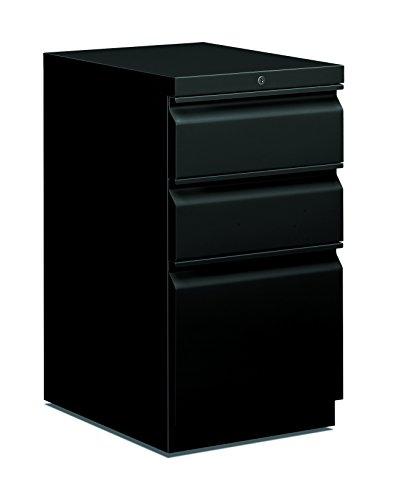 basyx HBMP2BP Mobile Pedestal File BoxFile 15 x 20 x 28 Black