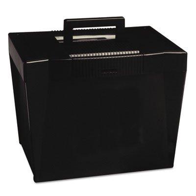 ~~ ESSELTE PENDAFLEX CORP ~~ Portable File Box Letter Plastic 14-78 x 11-34 x 11-14 Black
