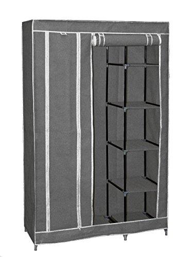 New 69 Portable Closet Storage Organizer Wardrobe Clothes Rack with Shelves Cloth Wardrobe Storage Shoe Rack Shelf
