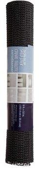 Home Store Non-slip Shelf Liner 12 X 60 2 Pack Black