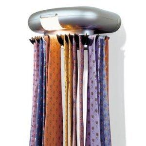 Perfect Solutions Tie-Tracker Revolving Tie Rack