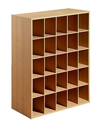 25-Cube Organizer Maple