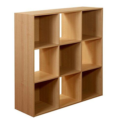9-Cube Organizer Maple