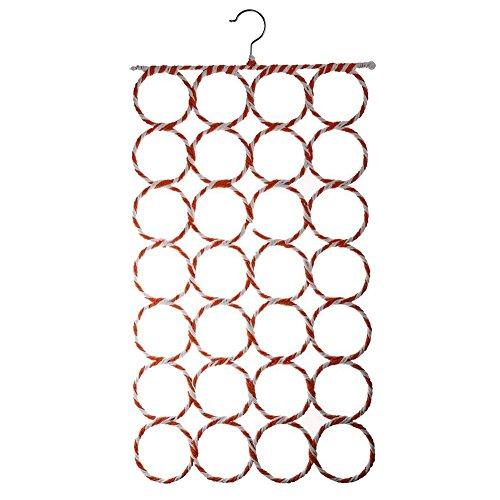 Vaorwne Shawls Hangers Belts Scarves TIE Rings Wardrobe Organizer Hooks