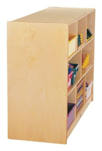 Jonti-Craft 0324JC18 Toddler Single Mobile Storage Unit 18 Deep