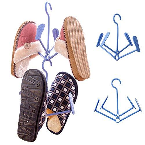 Shoe Drying RackNACOLA Plastic Foldable Shoe Drying Rack Airer 360 Degree Rotation Plastic Shoe Rack