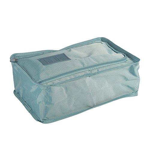 Jlong Portable Shoe Bag Travel Boot Shoe Box Organizers Waterproof Laundry Pouch Storage Case