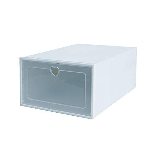 1PC Thickened Plastic Shoe Organizer Box Dust-Proof Flip Shoes Transparent Drawer Storage Case Shoe Organizers