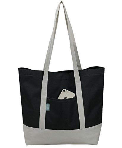 Merchandise Bags Grocery Tote Bags Car Boot Storage Bags Best Shopping Bags for Supermarket Dark Grey1 Pcs