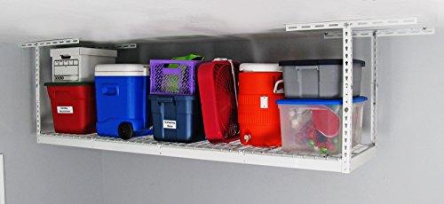 SafeRacks - 2x8 Overhead Garage Storage Rack 12-21